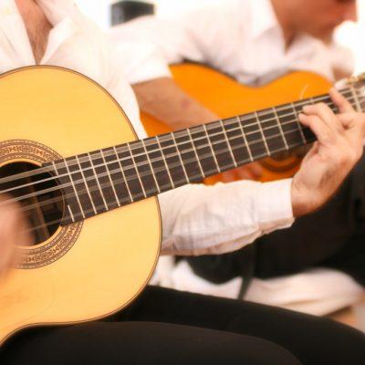 巴塞罗那旅游 吉他表演